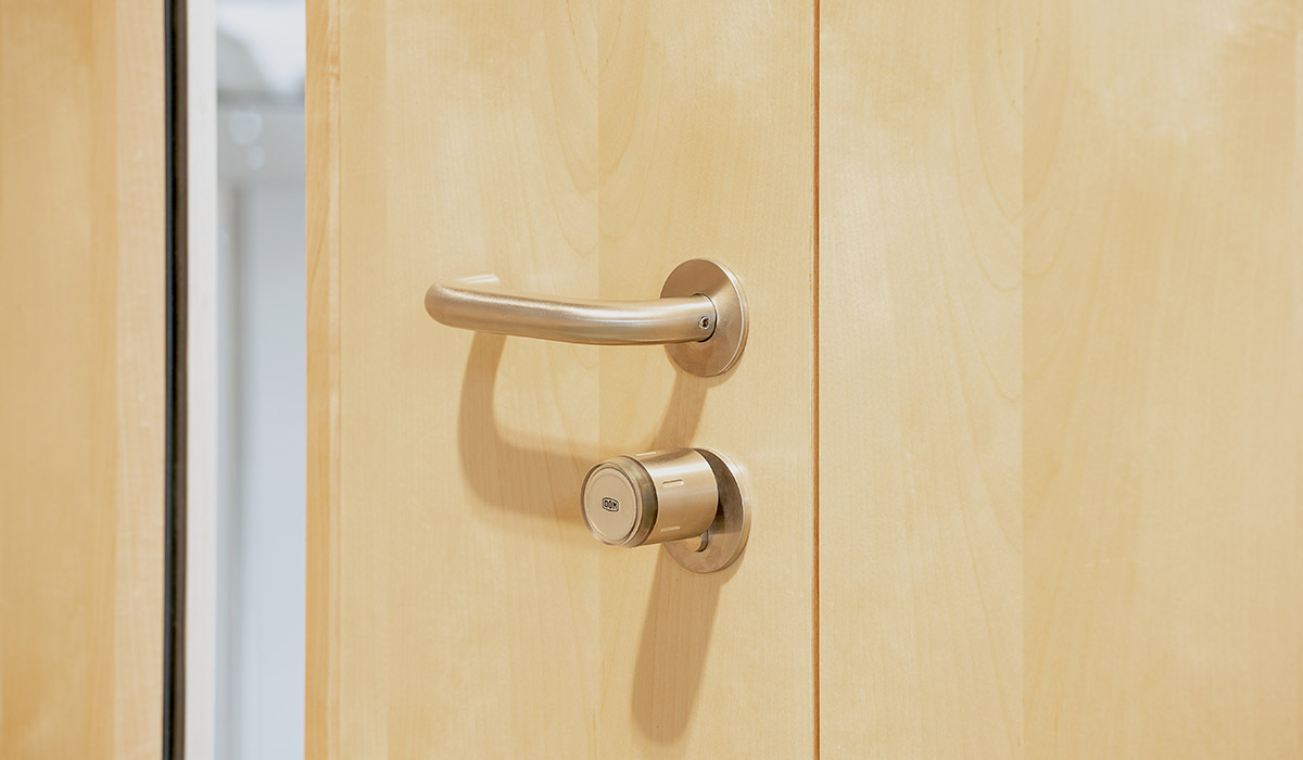 Electronic access control cylinders supplied to Noah's Ark by Doorview Ltd
